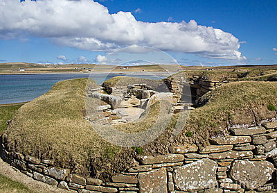 an analysis of the site of the architectural panorama skara brae Skara brae: a time capsule of catastrophism  site of skara brae in orkney shows great  houses of an architectural sophistication.