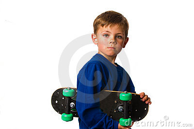 Skate board boy