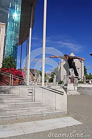 Skate Boarding UCC