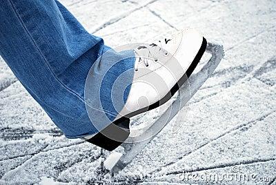 Skate on ice