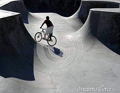 Skate Park Biker