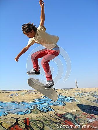 Skate park boy