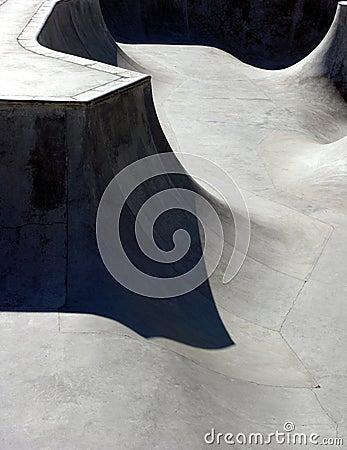 Free Skate Park Canyon Stock Photography - 201612