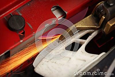 hockey skate sharpening machine