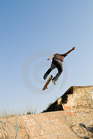 Free Skateboard Royalty Free Stock Photography - 9603727