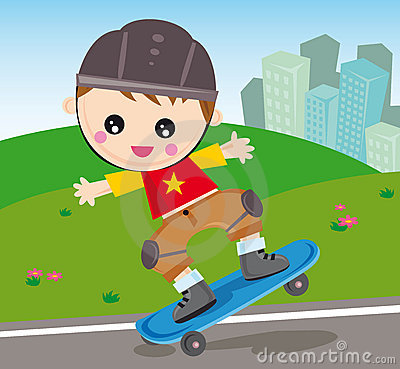 Free Skateboard Boy Royalty Free Stock Images - 7002189