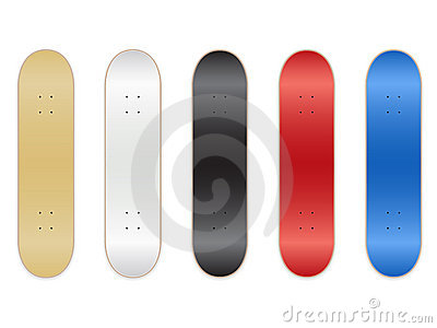 Skateboard Templates EPS