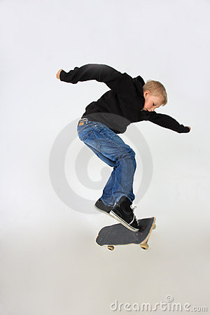 Free Skateboard Trick Stock Images - 5437794