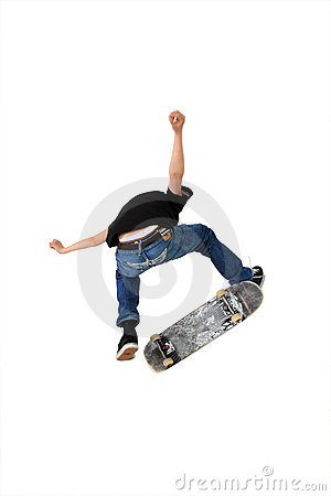 Free Skateboard Trick Royalty Free Stock Photography - 5437847