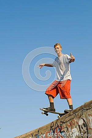 Free Skateboarder Royalty Free Stock Image - 9603586