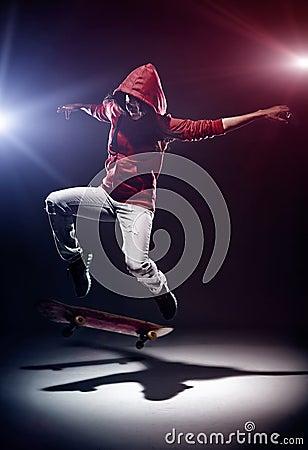 Skateboarding move