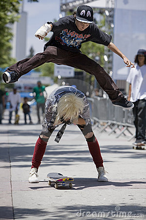 Free Skater 7 Royalty Free Stock Photos - 4257868