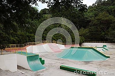 Skater in the park