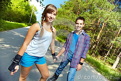 Skateres adolescentes