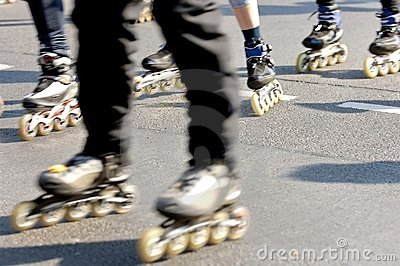 Skaters fun