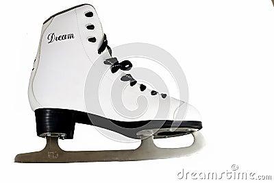 Skates isolated on the white