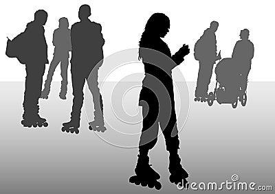 Skates people