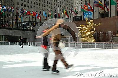Skating Editorial Photo