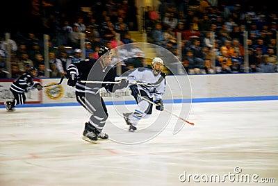 Skating fast
