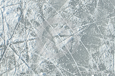 Skating Ice Ring Textu...