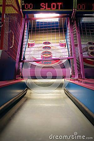 Free Skee Ball Arcade Bowling Game Stock Image - 38412121