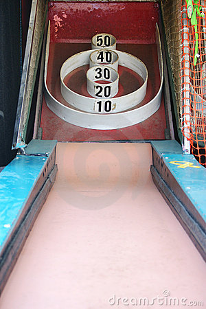 Free Skeeball Carnival Arcade Game Stock Photography - 1804662