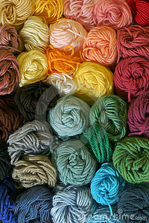 Free Skeins Of Yarn - Vertical Stock Image - 2092771