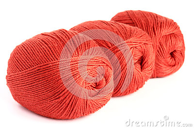 Skeins of wool