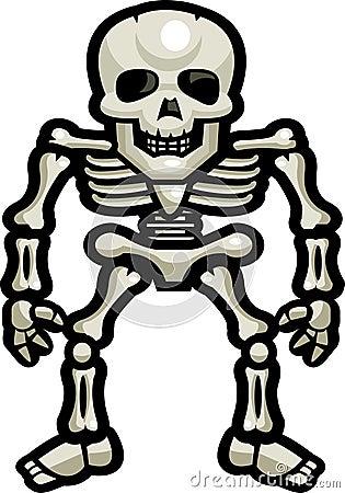skoyoofel: human skeleton cartoon, Skeleton