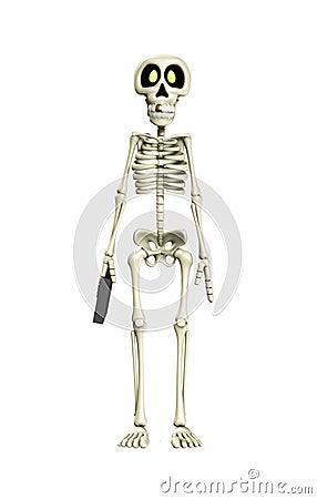 Skeleton Business Worker