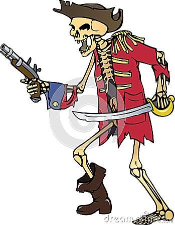 Skeleton captain