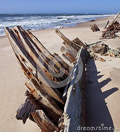 Skeleton Coast - Shipwreck - Namibia