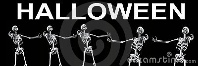 Skeleton Group Halloween 3