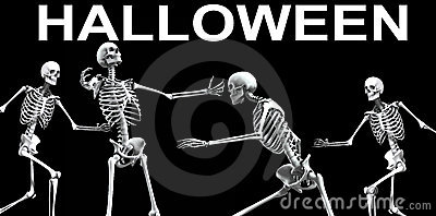 Skeleton Group Halloween 5