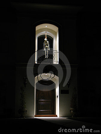 Skeleton Halloween decoration