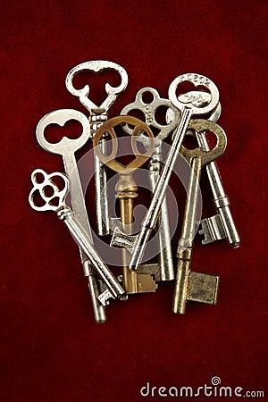 Free Skeleton Keys Stock Images - 14428024