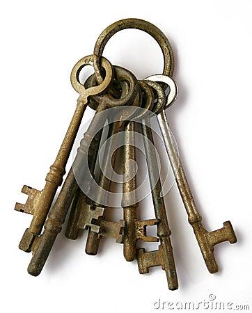Free Skeleton Keys Stock Images - 4184504