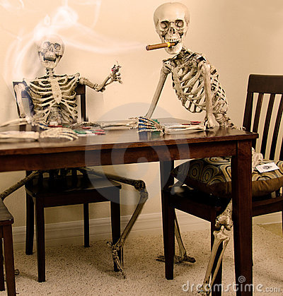 Skeleton Poker