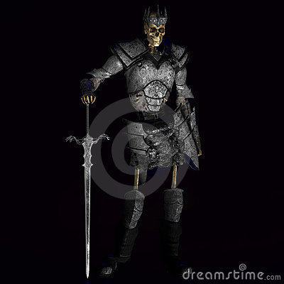 Free Skeleton Warrior King 01 Royalty Free Stock Photography - 3367957