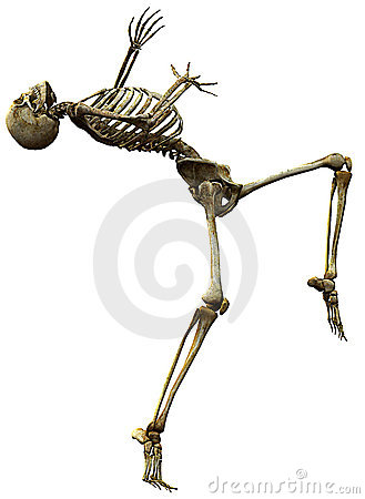 Free Skeleton Why Me Royalty Free Stock Images - 15565499