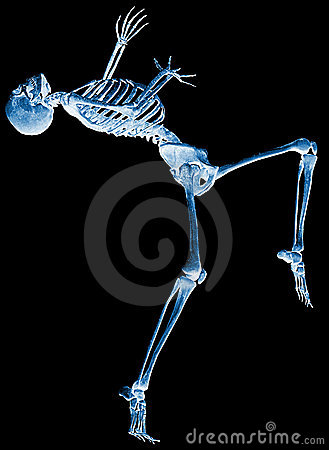Free Skeleton Why Me Xray Stock Images - 15565494