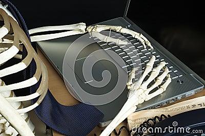 Skeleton at Work 1