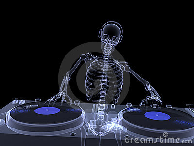 Skeleton X-Ray - DJ 2
