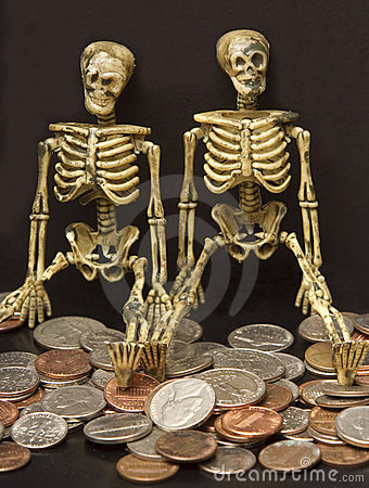 Skeletons and Coins