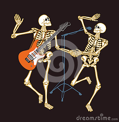 Skeletons in concert !
