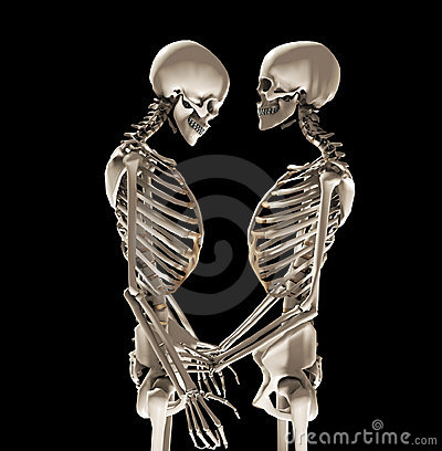 Skeletons In Love