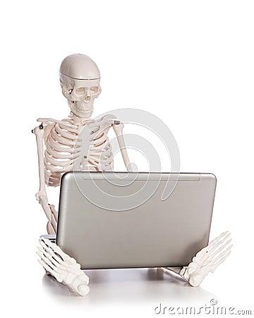 Skelett- arbete