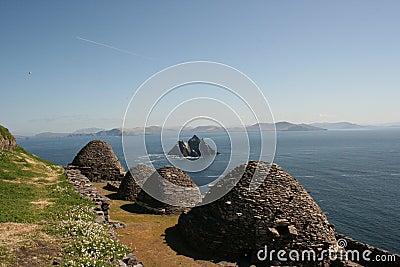 Skellig Island in Kerry Ireland