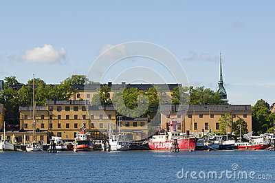 Skeppsholmen Stockholm Editorial Photo