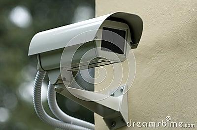 Säkerhet för 2 kamera